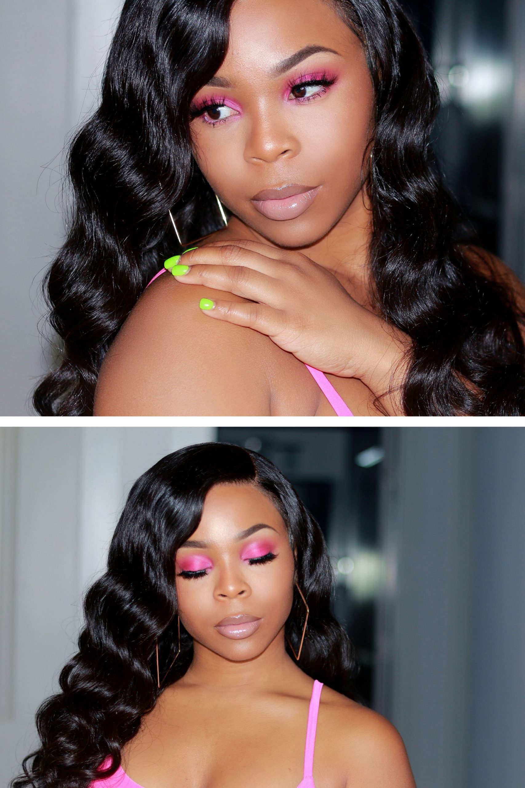 How to create a natural look With a pop of color !